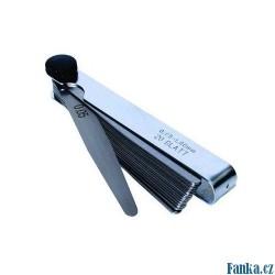 Sada spárové měrky 0,05-1mm 20listů