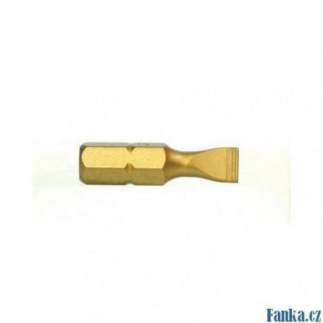 Bit S 3,0mm 25mm TiN S2, 10ks