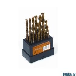 Sada HSS TITAN vrtáků 19ks,1-10x0,5mm