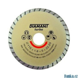 Diamantový kotouč 46-115 DIAMANT TURBO