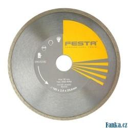 Diamantový kotouč FESTA plný 180 25,4mm