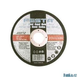 Kotouč řezný kov 125x1,0x22,2 FESTA