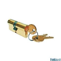 Niklová vložka zámku 65mm+3 klíče