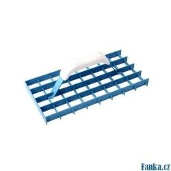 Škrabák mřížový ozubený 290x145mm
