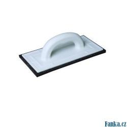 Hladítko plastové s černou plstí 220x130