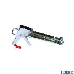 Vytlačovací pistole chromová