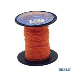 Zednický provázek 50M,1mm oranžový