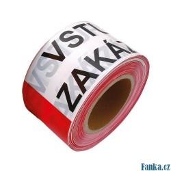 Varovací páska 200M VSTUP ZAKÁZÁN