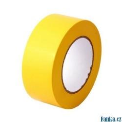 Trasovací páska 50mmx0,15mmx50m, žlutá