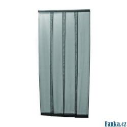 Dveřní závěs černý4x35x220cm proti hmyzu