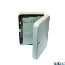 Skříňka na klíče 90kl 300x230x90mm
