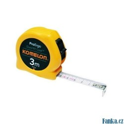 Svinovací metr KMC 8074N-8m x 25mm KOMELON žlutý