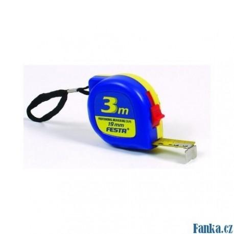 Svinovací metr FESTA 5019- 5m modro/žlutý