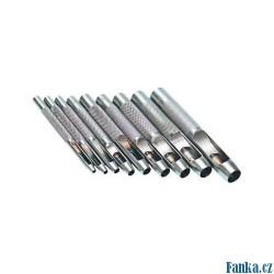 Děrovače 2,5-10mm, 9ks