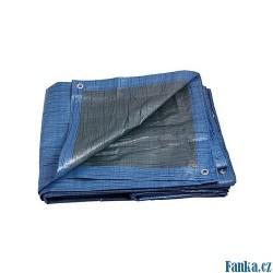 Zakrývací plachta PE 6x10m modrá EKONOMIK