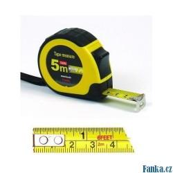 Svinovací metr 5m x 19mm páska: cm/inch